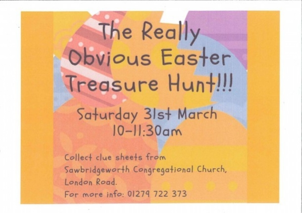The Really Obvious Easter Treasure Hunt