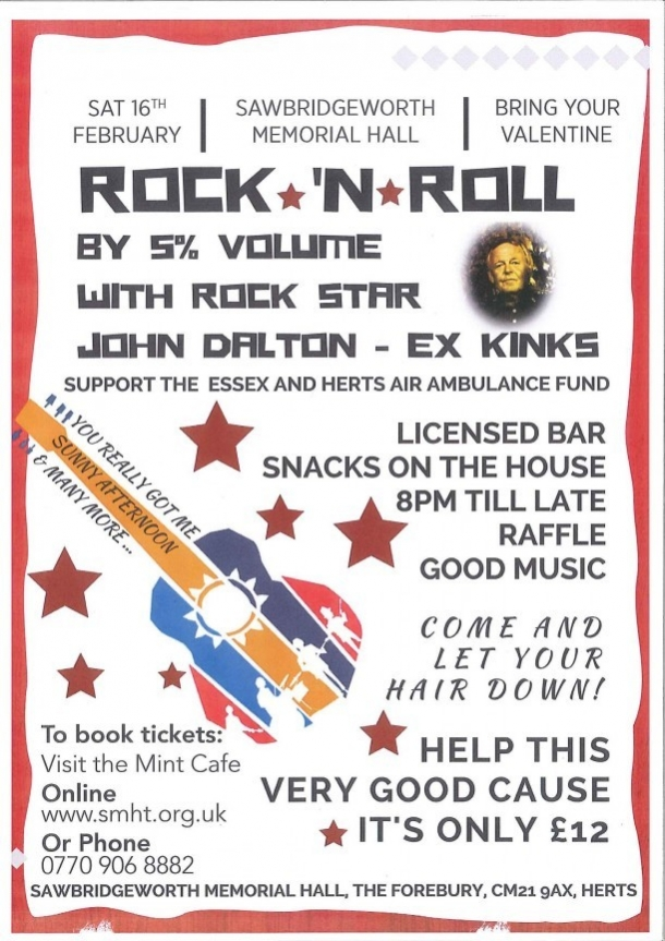 Rock N Roll By 5% Volume with Rock Star John Dalton - Ex Kinks