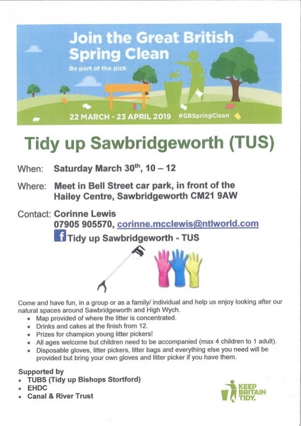 Tidy Up Sawbridgeworth