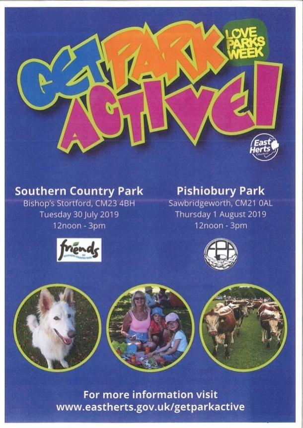 Get Park Active at Southern Country Park CM23 4BH