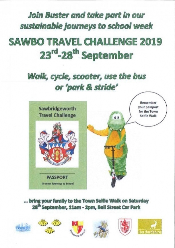 Sawbo Travel Challenge 2019 23rd-28 September