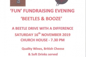 Fun Fundraising Evening 'Beetles & Booze'