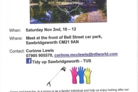 Tidy up Sawbridgeworth TUS