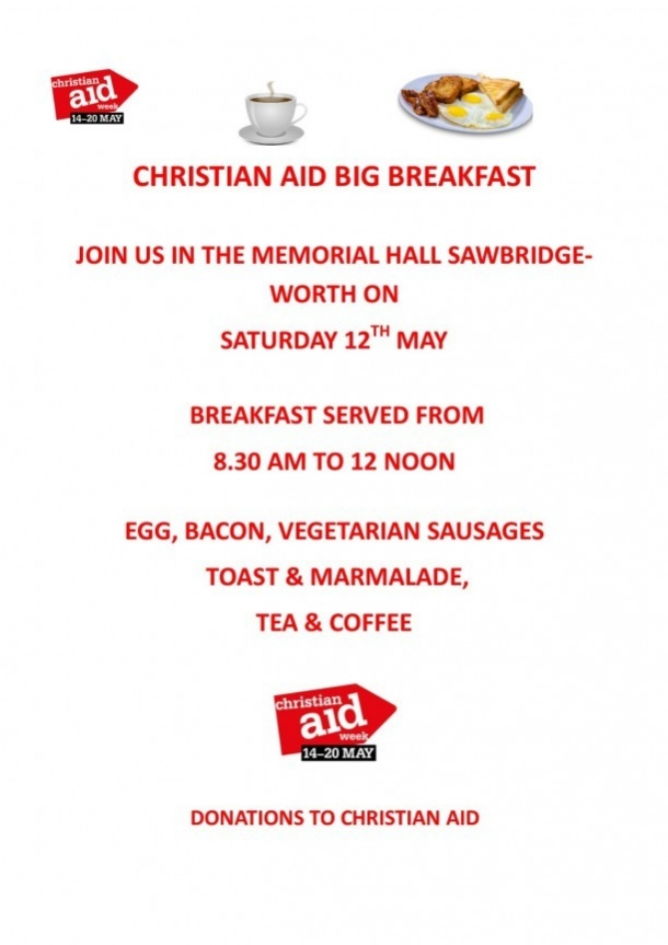 Christian Aid Big Breakfast