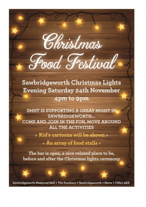 Food Festival - Sawbridgeworth Memorial Hall