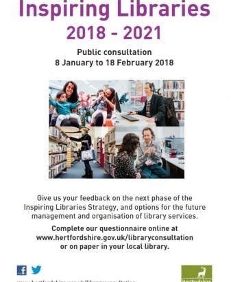 Inspiring Libraries: The Next Phase 2018-2021