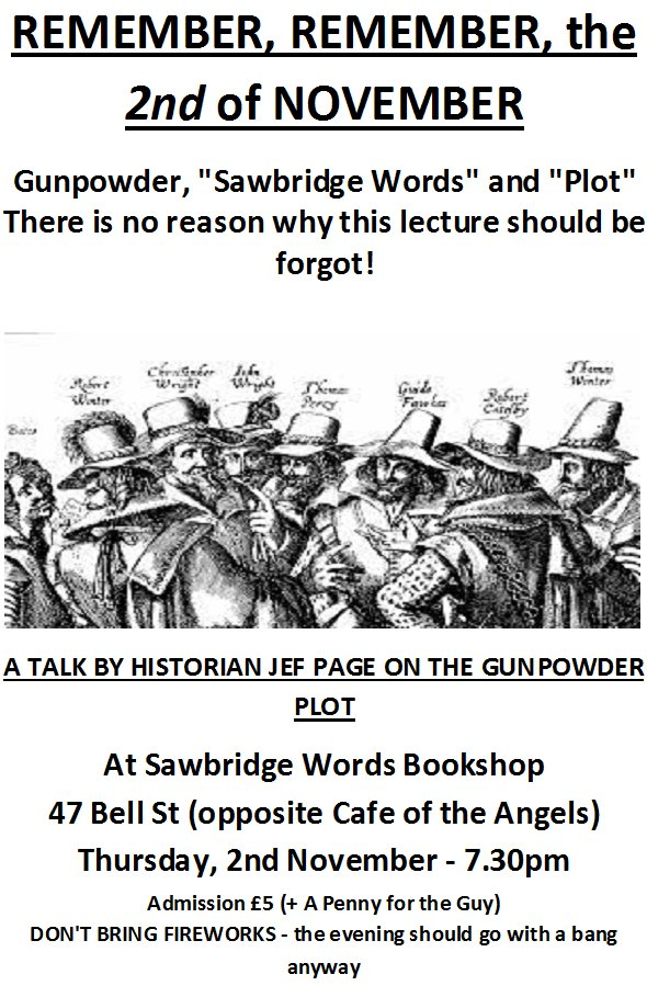 An illustrated talk on the Gunpowder Plot by historian Jef Page