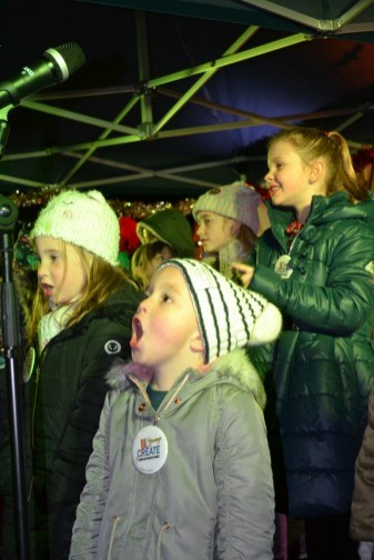 Youth Create Singing out load and strong to entertain everyone