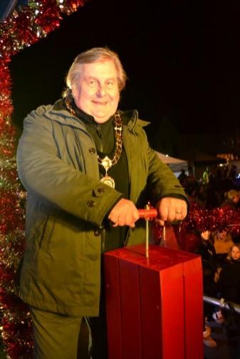 The Big Switch On by The Mayor, Cllr John Burmicz