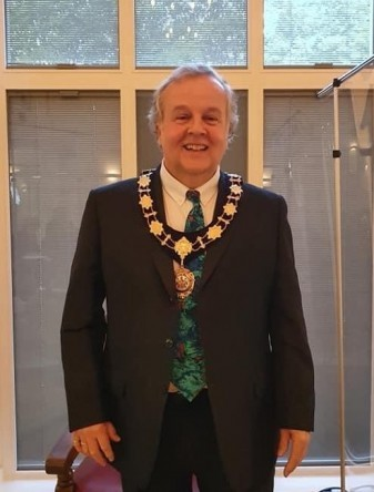 Mayor of Sawbridgeworth Councillor Greg Rattey