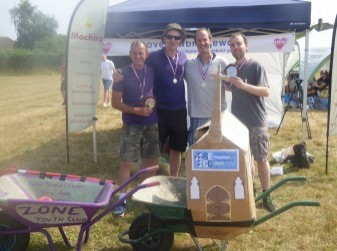 Wheelbarrow Race Winners 2018 - The 2019 race is sponsored by Mackay Property Agents